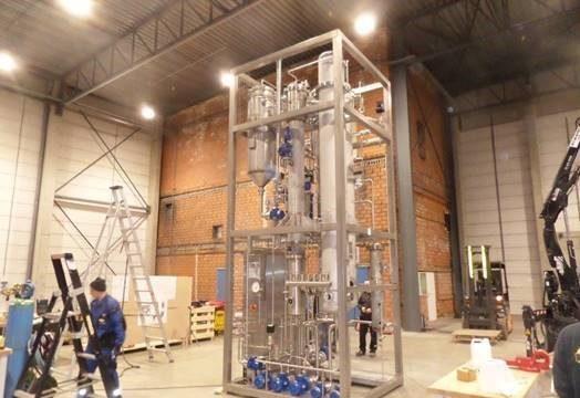 SIGMASATR – układ o wydajności 3 – 5 hl/godzine opuszcza Bretten!