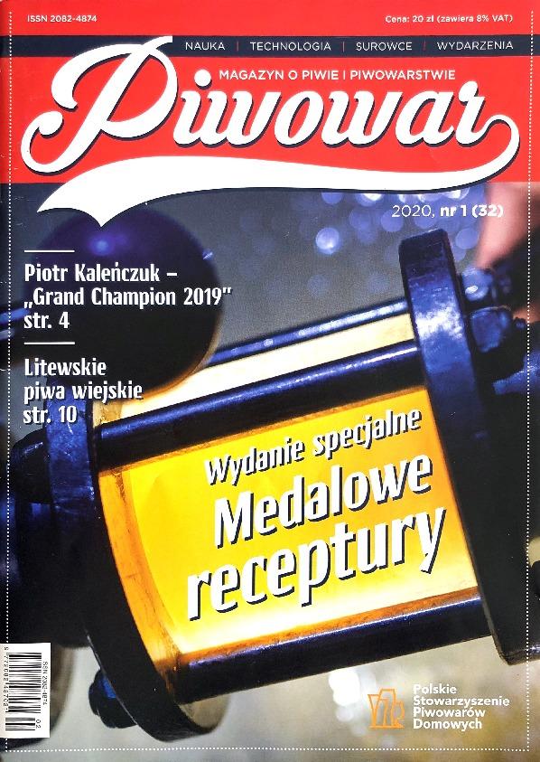 "Our advertisement in the ""Piwowar"" magazine"