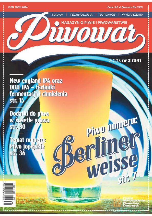 Piwowar Numer: 34/3 (2020)