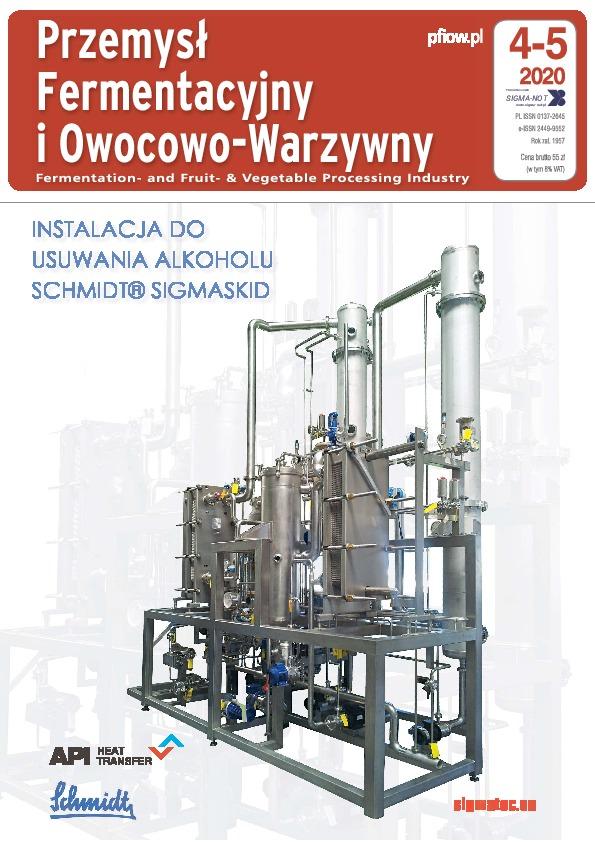 Przemysł Fermentacyjny i Owocowo-Warzywny 04-05/2020