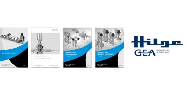 GEA-Hilge product catalogs